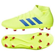 Details About Shoes Adidas Nemeziz 18 3 Fg Bb9438 Yellow 45 1 3 Soccer Football Boots