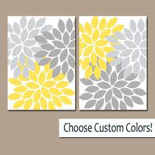 yellow gray wall art canvas or prints bathroom artwork gray wall yellow l 4a25e28c7aec5491 800x800 lummy