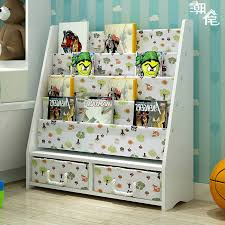 baby bookshelf children s bookcase kindergarten painting bookshelf children s home map bookshelf cartoon toy storage rack