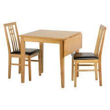vienna 77cm 100cm drop leaf dining table with 2 dining chairs next day delivery vienna 77cm 100cm drop leaf dining table with 2 dining chairs from