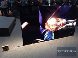 sony tv 4k oled. ces 2017: ought to you get sony\u0027s bravia oled 4k hdr tv or lg\u0027s signature w tv? : 2017 tech occasions - wook box sony tv 4k oled