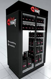 Hat Vending Machine Stunning Coming To A Train Station Near You First Ever Beauty Vending