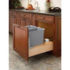 pullout trash can. Fine Trash 1925 In H X 2025 W 2175 D Intended Pullout Trash Can A