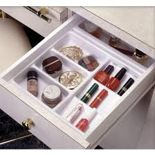 Vanity Cosmetic Drawer Organizer Base Tray