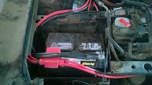 fleetwood alternator i have 1ga wire out to the starter and 1ga wire down to the block you notice a second 1ga that goes to a second battery on the driver s