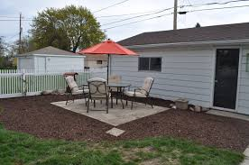 mulch sod cutter patio pavers diy landscaping reno pea