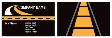 Haulage Business Card Transport Rocket Cards