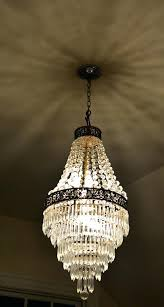 french empire chandelier antique fine style crystal