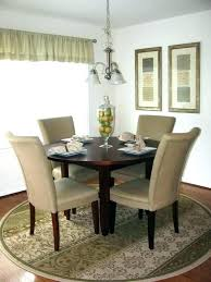 rug for round dining table round dining table rugs rug circular kitchen nob best circle ideas