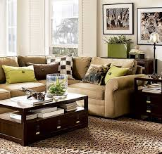 brown living room. Living Room:Examples Design Brown Room And Green Pillow Pattern Carpet With