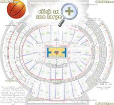 Msg Sesting Chart Madison Square Garden Seating Chart Detailed Seat Numbers