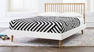 Mid Century Spindle Bed Conversion Kit + Reviews | Crate and Barrel