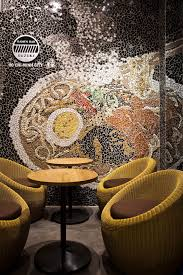 Small Picture Cool Ramen Restaurant in Vietnam Integrating a Mosaic Wall