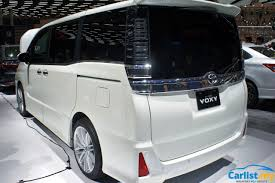 2018 toyota voxy.  voxy available in just one trim the toyota voxy is powered by a 20litre  3zrfae fourcylinder petrol engine that does 152 ps and 193 nm sent to front  in 2018 toyota voxy