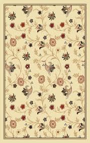 picture of classic fl design vine area rug
