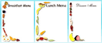 breakfast menu template clipart menu food clipart collection download food menu