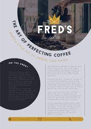 Get the best deal for fred mugs coffee from the largest online selection at ebay.com. Fred S Coffee Shop Flyer Coffee Branding Coffee Branding Logo Branding Photos