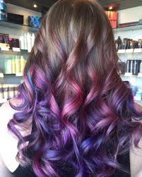 Purple Hair Style 40 versatile ideas of purple highlights for blonde brown and red hair 4033 by wearticles.com