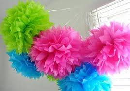 Paper Flower Balls To Hang From Ceiling Flower Balls To Hang From Ceiling Nursery Party Paper