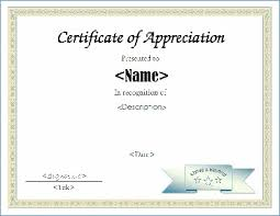 Teacher Appreciation Certificate Template Margaretcurran Org