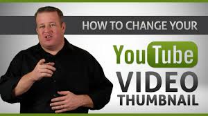youtube video image size how to change youtube video custom thumbnail tutorial no software