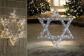 Christmas Lights Star Of David