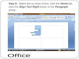 Create Business Card In Word 8399