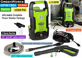 affordable pressure washing. Simple Washing GreenWorks GPW1501  Best Cheap Pressure Washer Throughout Affordable Pressure Washing