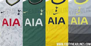 Tottenham hotspur has a long history of relationships with various kit manufacturers and shirt sponsors. Nike Tottenham 20 21 Home Away Third Fourth Kits Leaked Footy Headlines