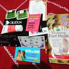 globox makeup subscription box review august