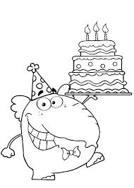 Kleurplaten Oma Verjaardag Met Taart Torte Mit Vielen Kerzen