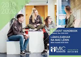 Interior Design Student Handbook Mic Student Handbook 2019 20 By Micireland Issuu