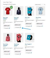 products page woocommerce products compare woocommerce