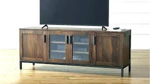 glass door tv stand console with glass doors console with glass doors charming console cabinet a