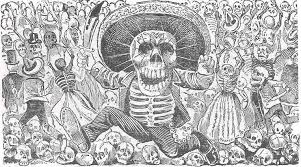 for the day of the dead the classic skeletons of jose guadalupe  posada calavera oaxaquena