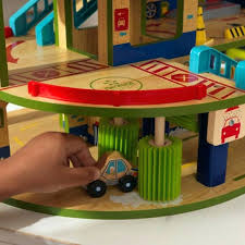 large toy car garage wooden workbench toy home boys wooden toys wooden toy garages kidkraft