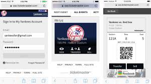 Digital Ticket Delivery How To Access Your Mobile Tickets