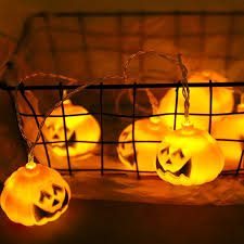 <b>Cute LED Lantern</b> string <b>Halloween</b> pumpkin Holiday decoration ...