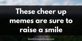 Cheer Quotes Enchanting These Cheer Up Memes Are Sure To Raise A Smile Best Wishes And