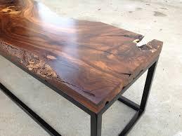 live edge bistro table live edge black walnut live edge black walnut coffee table