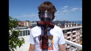 o hacer una mascara de gas casera