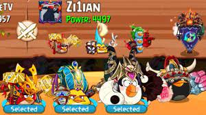 KNOCK OUT 3 BIRDS WHILE ATTACKING YOUR BANNER   Angry Birds Epic #142 -  YouTube