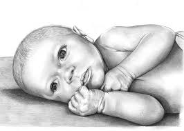 baby drawings sketches and pencil