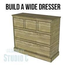 Delightful Build A Beautiful Wide Chest/Dresser!