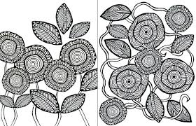 Flower Coloring Sheets Printable Coloring Pages Of Flowers Coloring