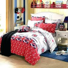nhl bedding bedding sets bedding combing cotton linens style bedding sets flags white red sheets sets