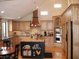 modern white tile floor. Kitchen, Vaulted Ceiling Kitchen Lighting White Laminated Wooden Base Cabinets Island Black Table Rectangle Grey Modern Tile Floor