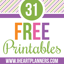 Custom Daily Planner Day 17 Editable Daily Planning Printable I Heart Planners