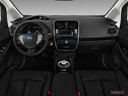 2017 nissan leaf dashboard