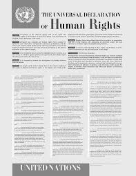 united nations universal declaration of human rights history  the universal declaration of human rights has inspired a number of other human rights laws and treaties throughout the world